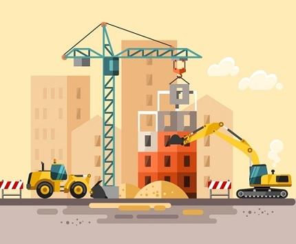 مراحل ساخت ساختمان در کلاردشت