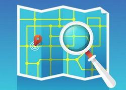 جستجو بر روی نقشه