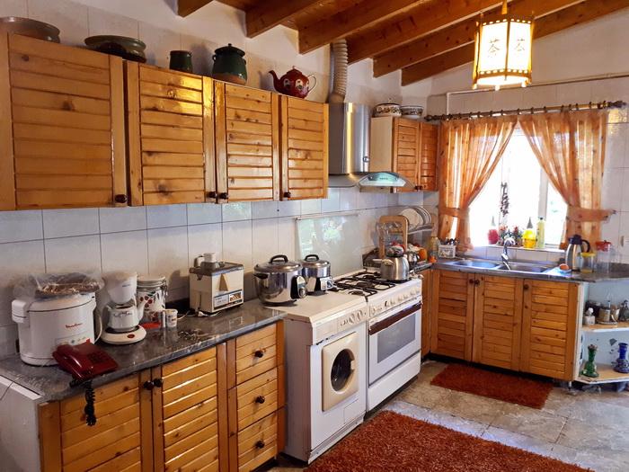 کد 2712 - ویلا استخر دار کلاردشت -  آشپزخانه