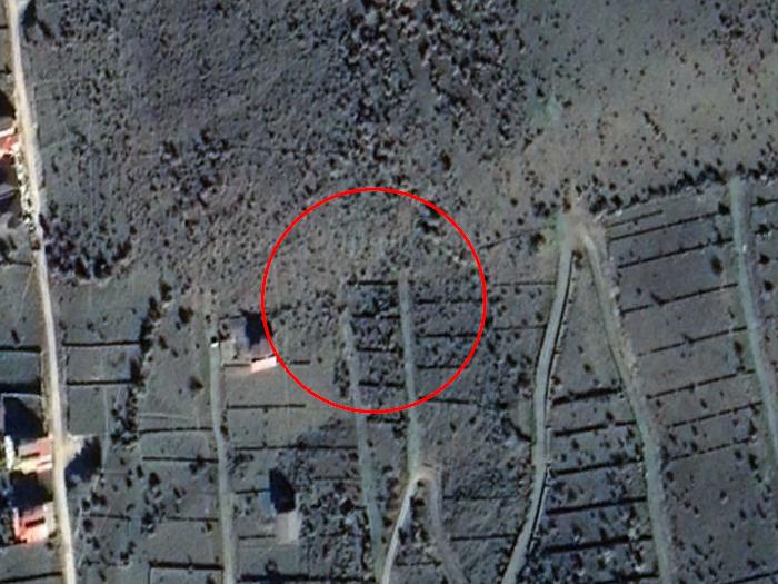 1604-111-زمین فروشی مجل - عکس هوایی