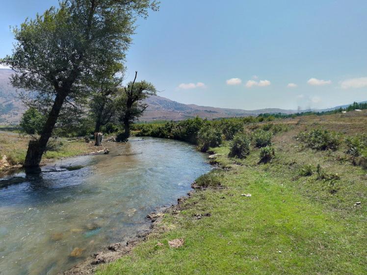 زمین فروشی لب رودخانه