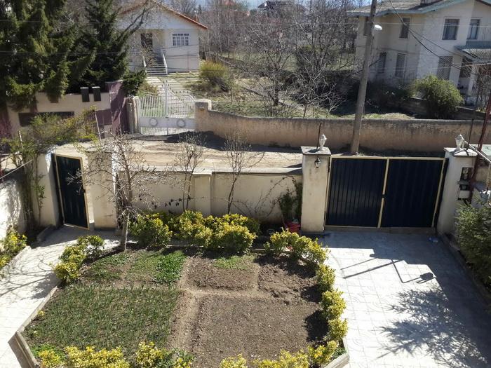 محوطه حیاط سازی شده