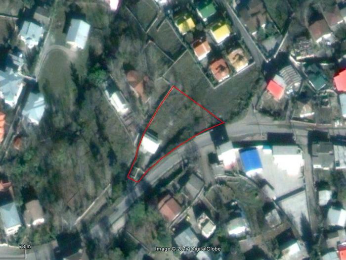 عکس هوایی موقعیت زمین